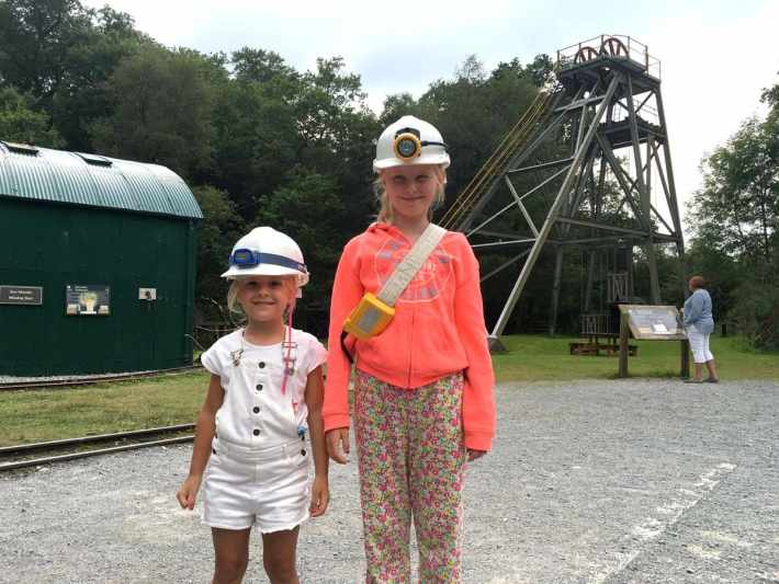Dolaucothi Gold Mines Miners Gear