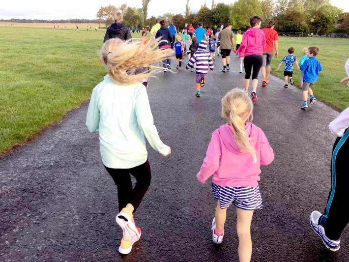 Junior Park Run Town Moor