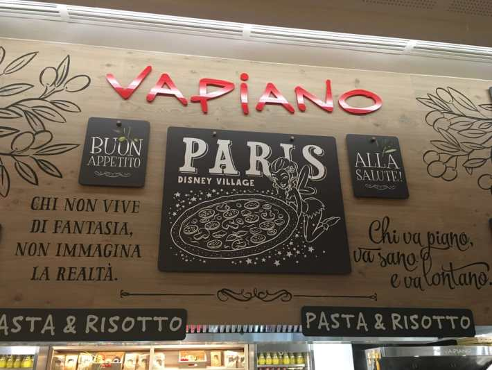 Vapiano Disney Village