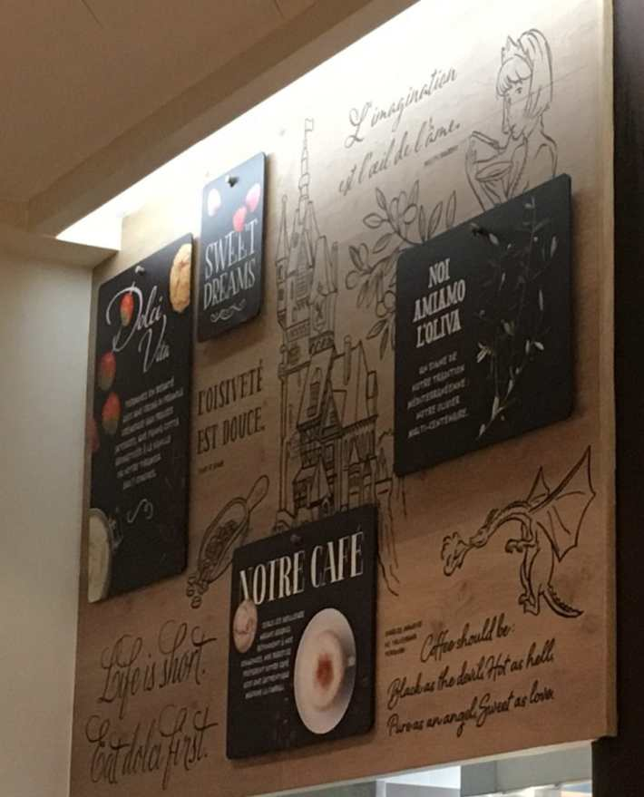 Vapiano - Princess and Castle