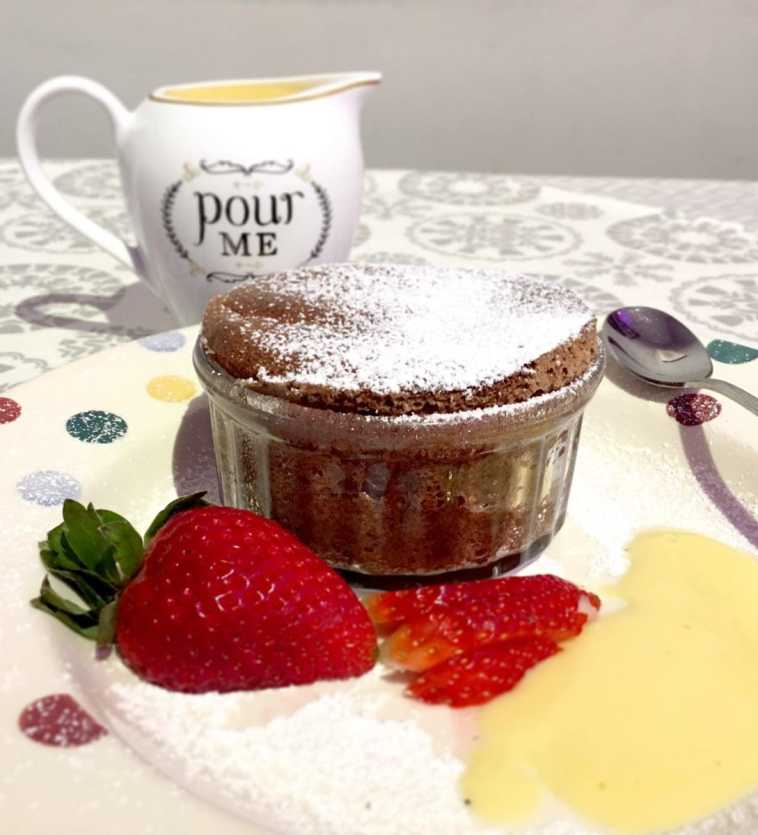 Easy Chocolate Souffle Recipe
