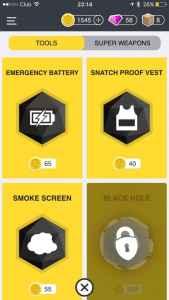 Snatch App defense
