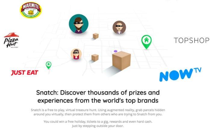 Snatch Website Prizes