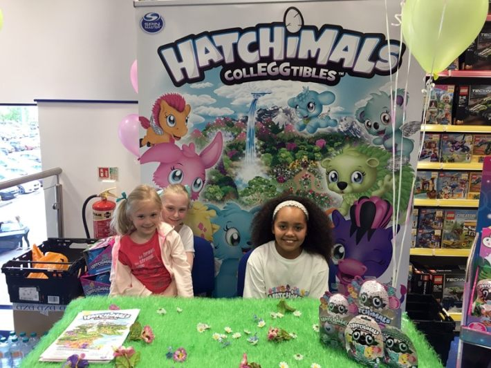 Tiana Toys and Me with Hatchimals Colleggtibles