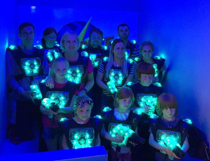 Quaser Laser Bloggers dayout