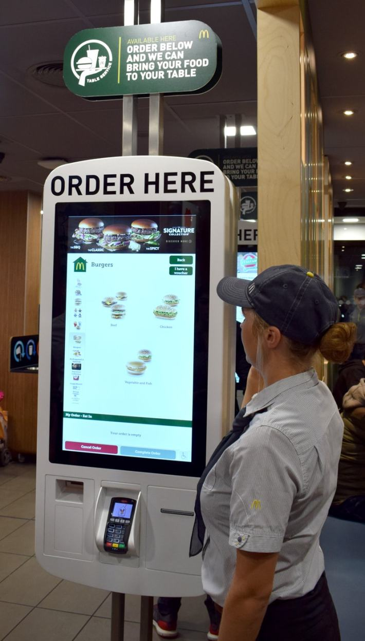 McDonalds Touch Screens
