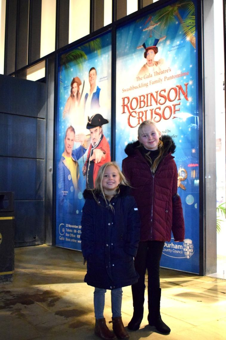 Robinson Crusoe at Gala Theatre Durham