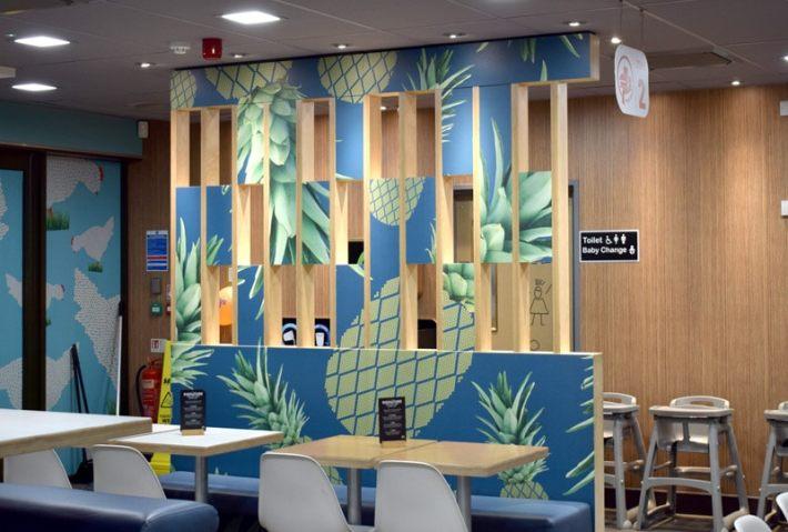 McDonalds Interiors