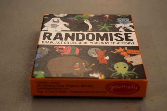 Fun Family Games with Randomise