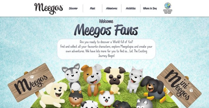 My Meegos Website
