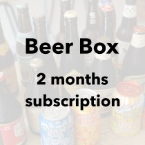 Monthly Beer Box 2 months subscription
