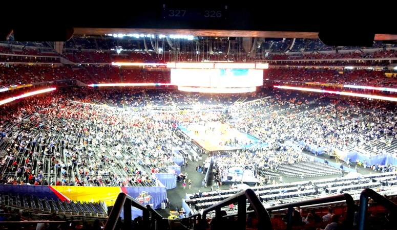 we went to the NCAA Final Four