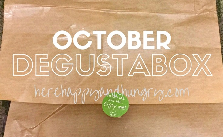October Degustabox