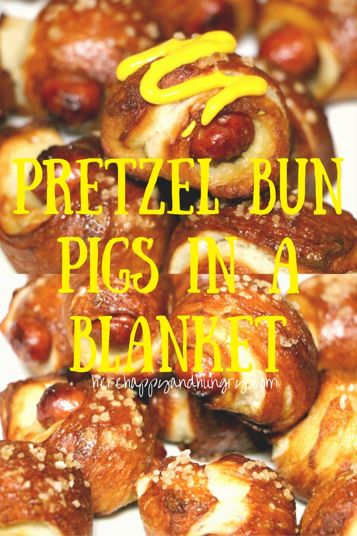 Pretzel Bun Pigs In A Blanket