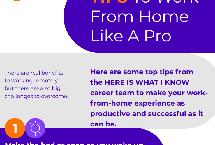 infographic working from home
