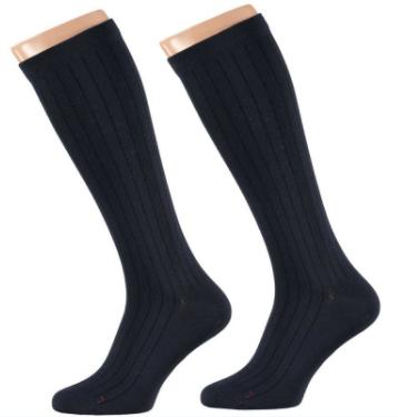 Apollo Heren Medische Compressie sokken Navy 3-pack-43/46