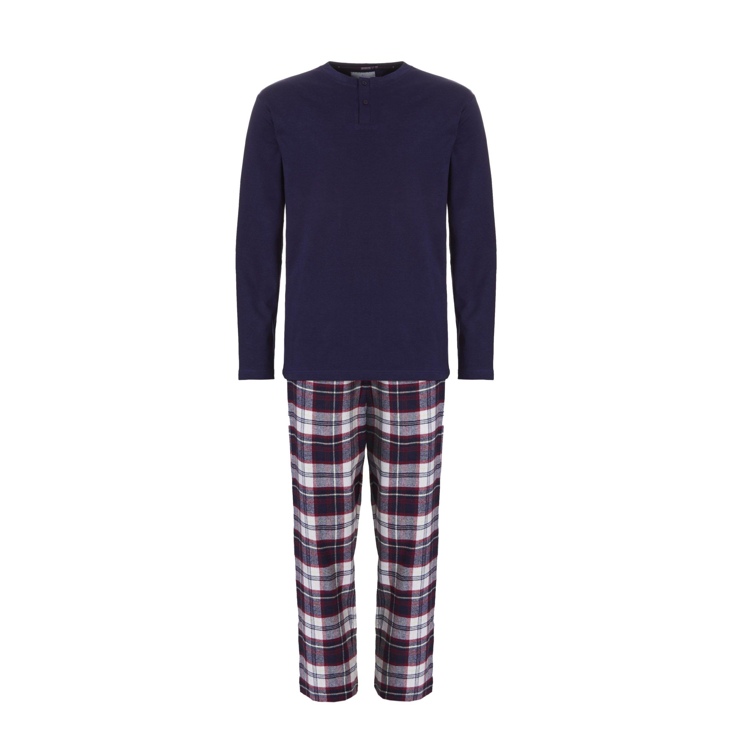 Ten Cate Heren Pyjama Donkerblauw