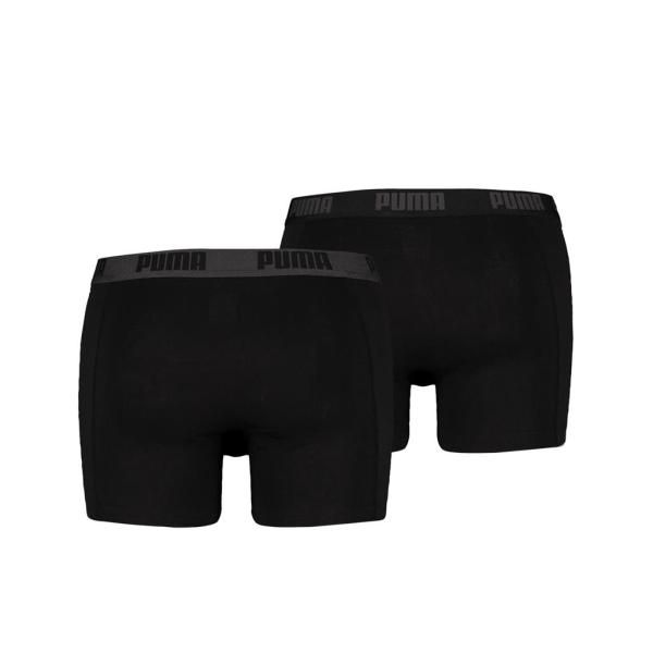 Puma boxershort 2-pack black-black