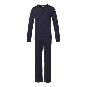 Ten Cate Pyjama Heren Square Blue