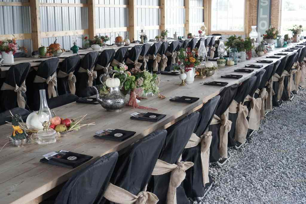Slow Food Table Setting
