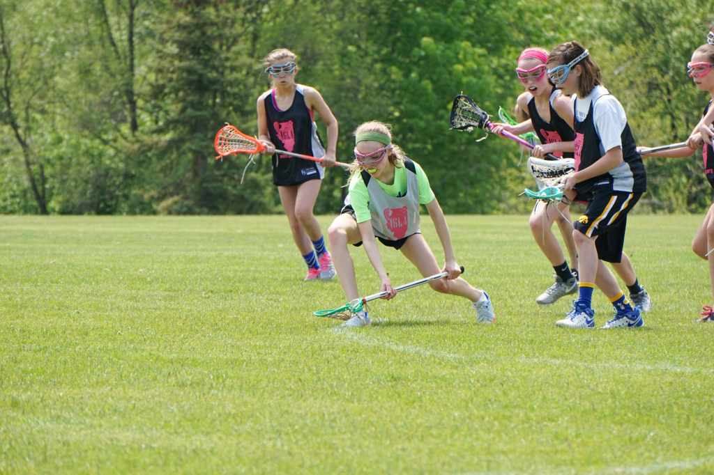 Abigail Playing Lacrosse Before SIBO