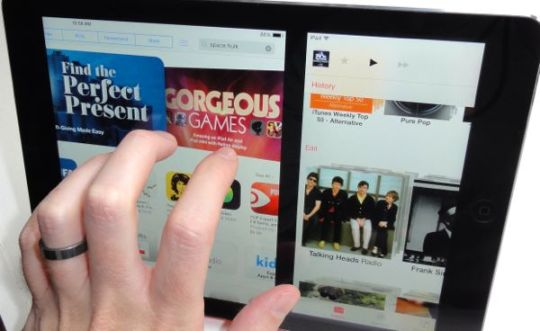 Swipe to switch iPad apps iPad tip: 3 nifty iPad gestures you need to try