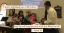 The Baptism of Aurora and Savannah