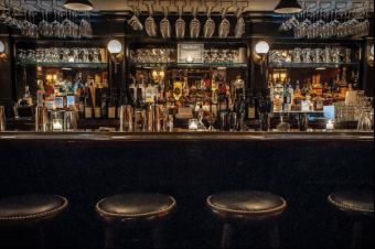 The Beatrice Inn bar (photo courtesy of their website)