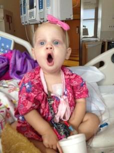 Bailey in hospital