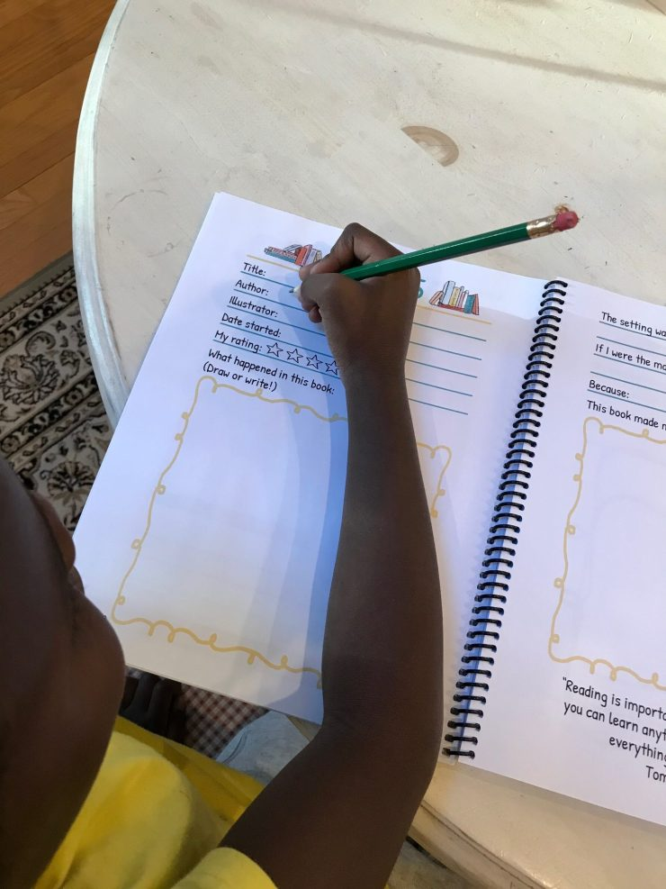 Storyville: A Reading Journal for Little Bookworms Ages 5 - 12