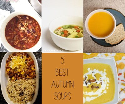 Another Round-Up: 5 Best Autumn Soups