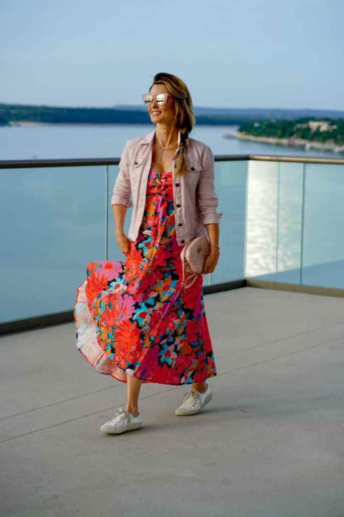 Floral Dress Styling For Daytime