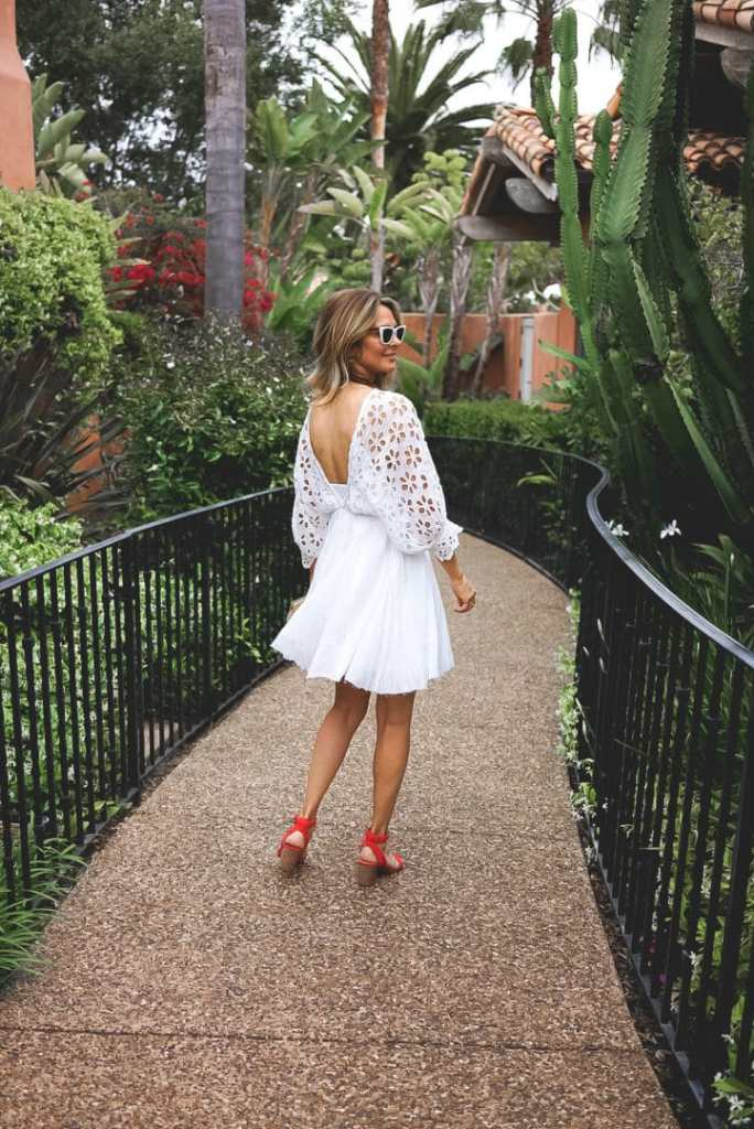 White Dresses For Summer Outfits