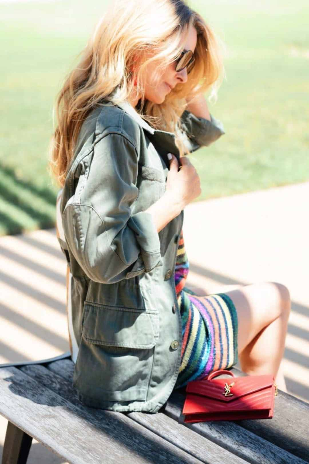 Summer Jacket Trend - Army Jacket