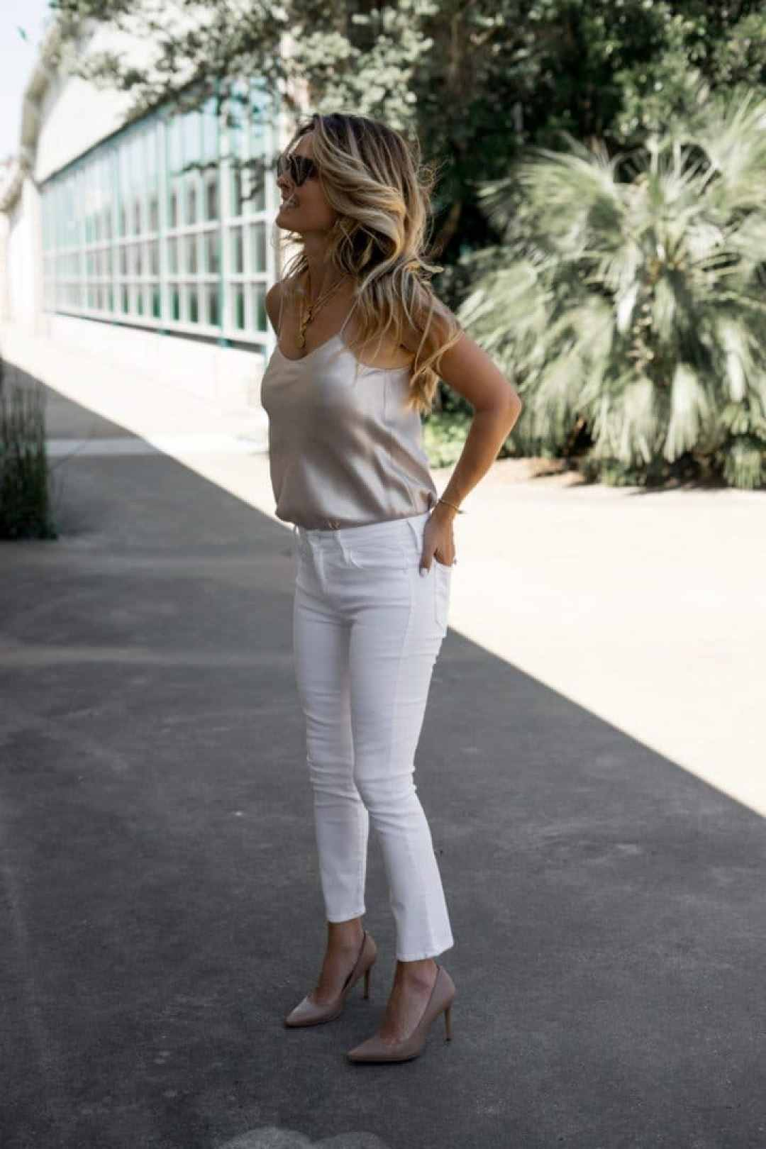 Date-night outfit with neutrals - www.HerFashionedLife.com