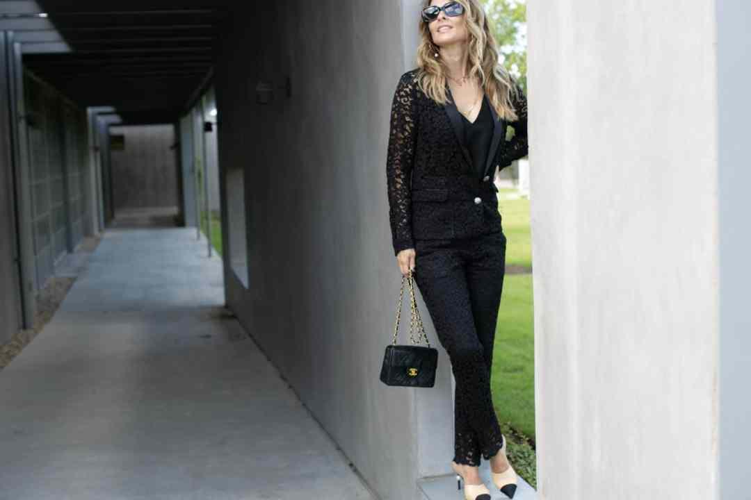 Lace Suit www.HerFashionedLife.com
