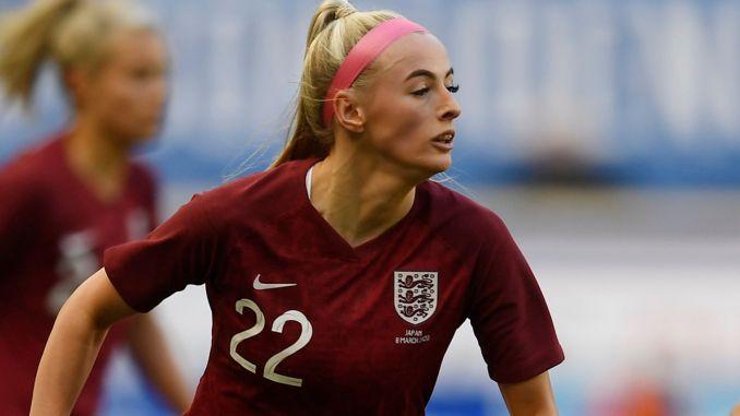 Chloe Kelly for England