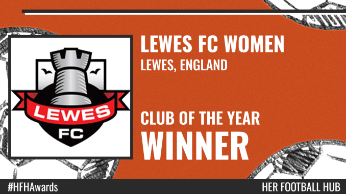 Lewes FC Women – Club of the Year