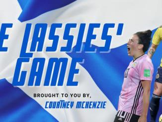 The Lassies' Game column graphic.