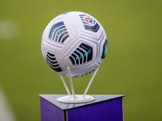 2021 NWSL game ball.