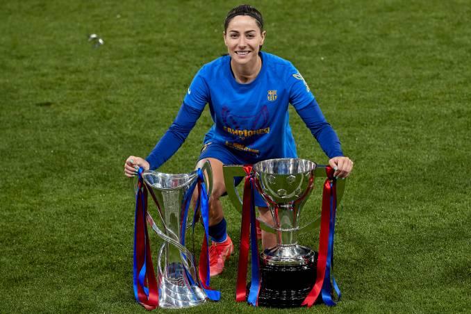 Vicky Losada of Barcelona FC.