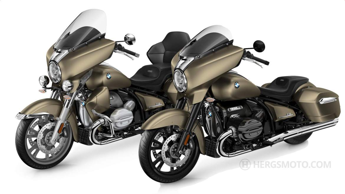 The new BMW R 18 Transcontinental targets America
