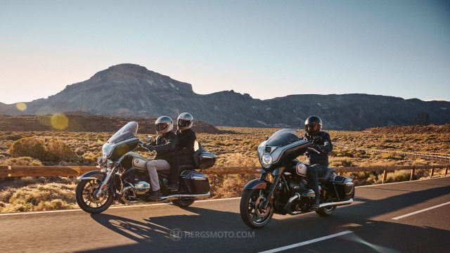 The new BMW R 18 B and R 18 Transcontinental.