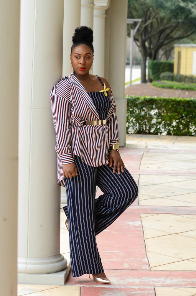 How to Wear Stripes on Stripes