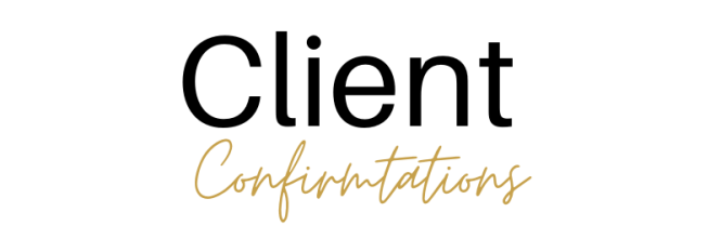 Client Confirmations 2