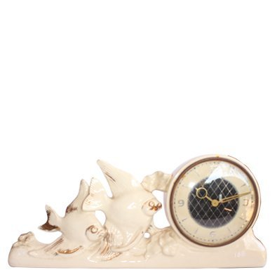 Porcelain Clock Showpiece Chinese Ceramic