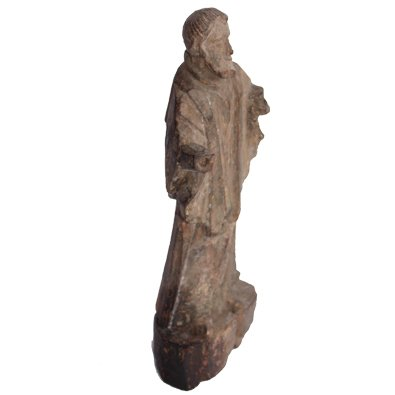St Antony Idol Wooden Vintage Handicraft Small