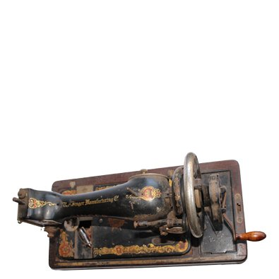 1901 Year Made Singer Sewing Machine Antique For Sale