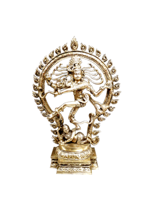 Nataraja Statue brass Dancing Shiva Brass Antique Finish