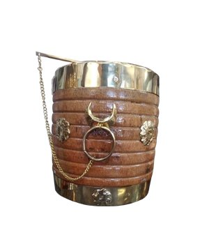 Decorative Nirapara Traditional Measuring Vessel Home
